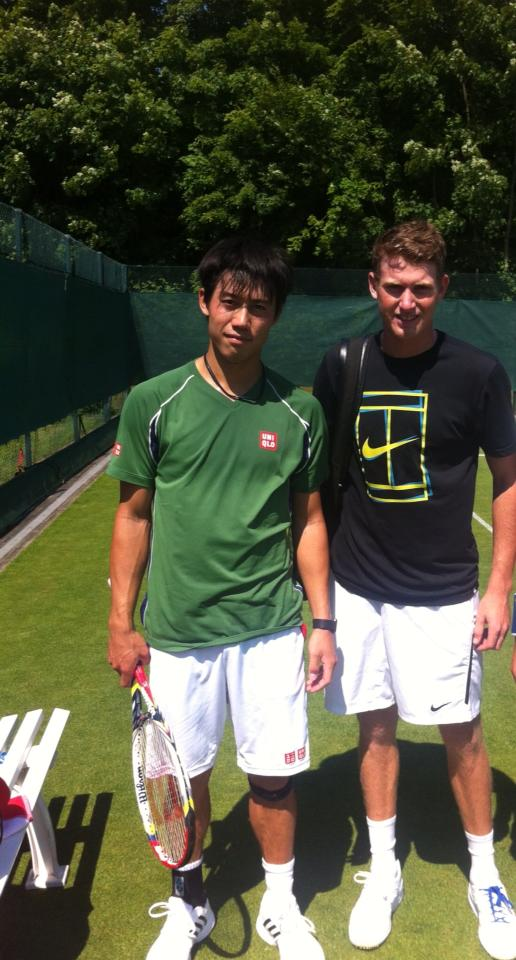 Harry & Kei Nishikori